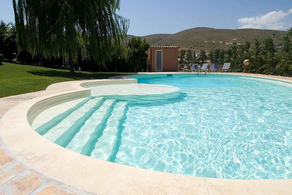 Piscines en pvc tunisie for Construction piscine geomembrane